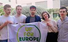 La UCV, primera parada del movimiento social Up For Europe